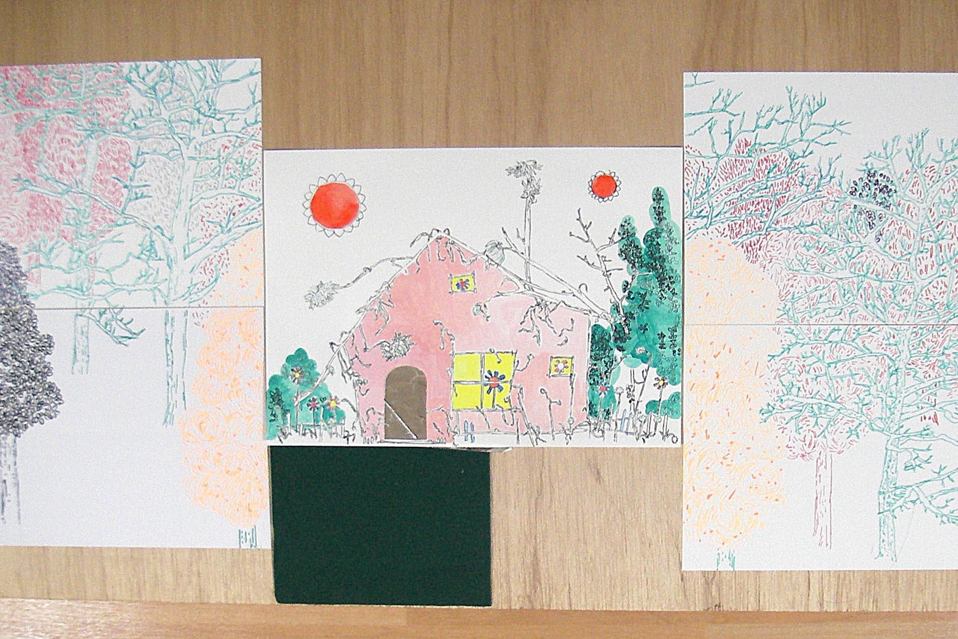 青木陵子作品《Fiction House》(圖片由香港藝術中心提供)
