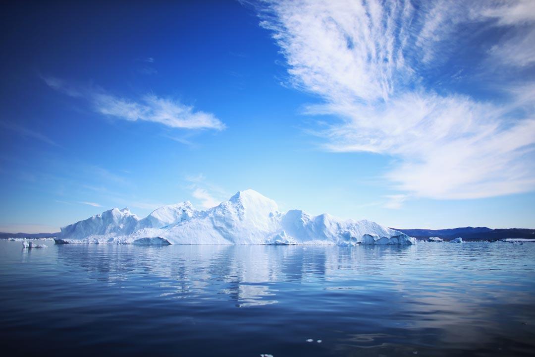 北極受氣象變化影響,近日氣溫達到零度以上。攝 : Joe Raedle/GETTY