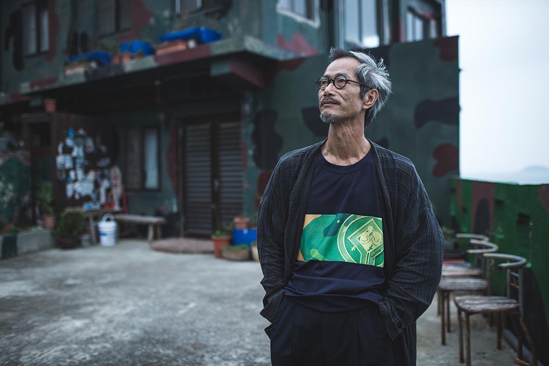 連江縣前文化局長、刺鳥咖啡館負責人曹以雄。攝:王嘉豪/端傳媒