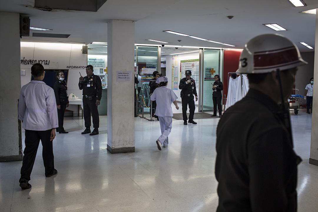 爆炸後傷者分送多間醫院,曼谷市中心Chulalongkorn Memorial Hospital為其中一間接收有關傷者的醫院。