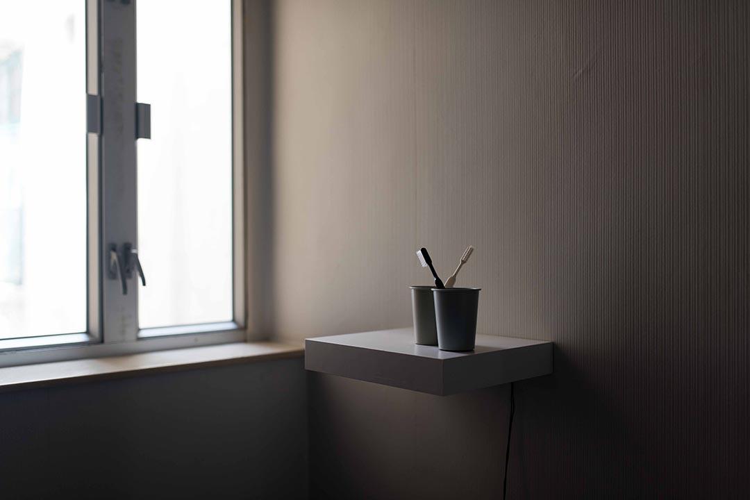 卓思穎在咩事藝術空間展出的作品之一。 攝:Lit Ma/端傳媒