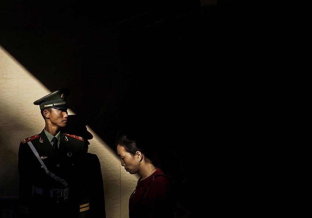 中國《刑法修正案(九)》將於11月1日起施行,散布謠言、私藏極端主義圖書等都將入罪。攝 : Kevin Frayer/GETTY