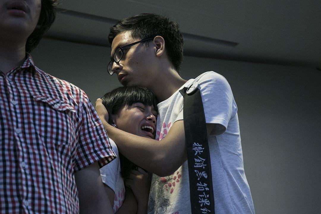 2015年8月3日下午,台灣反課綱(反對台灣教育部調整高中歷史課程綱要)學生代表與台灣教育部長吳思華展開2個多小時的公開談判,學生要求吳思華撤銷課綱並道歉下台,但吳思華表示新課綱已走完程序,除非證明「不合法或不適當」,否則不可能撤銷。