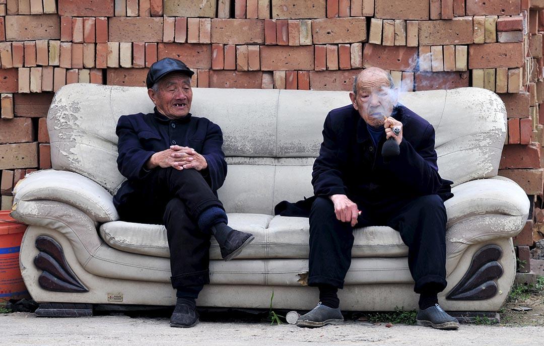 8月23日,中國正式允許養老金入市。攝: Stringer/REUTERS