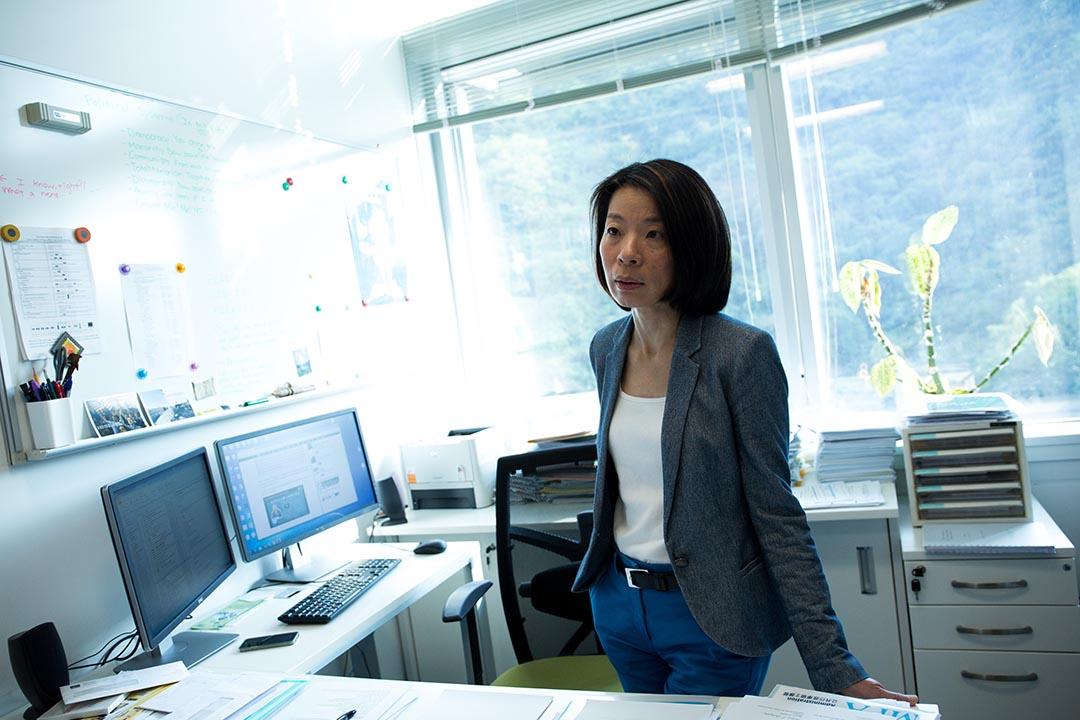香港大學政治與行政學系系主任李詠怡。攝:盧翊銘/端傳媒