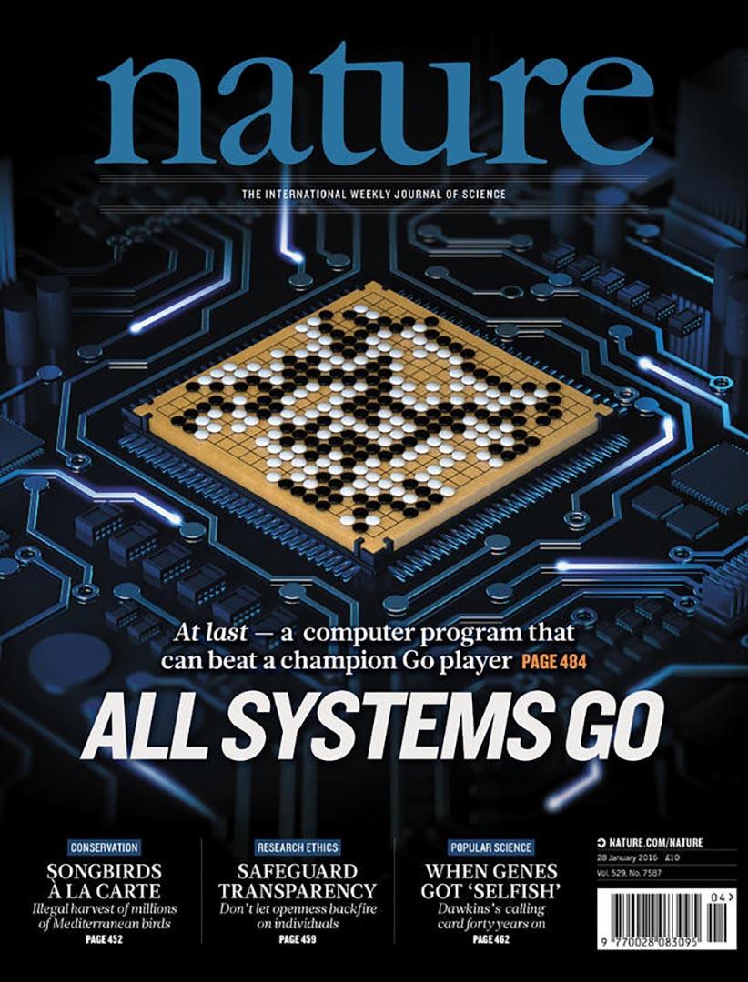 最新一期《自然》(Nature)雜誌公布, Google 旗下 Deepmind 公司研發的人工智能程式 AlphaGo 戰勝了歐洲圍棋冠軍樊麾。google DeepMind