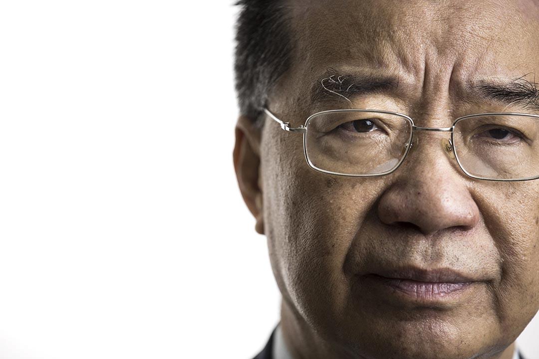 前全國政協委員、東方明珠石油前副主席劉夢熊。攝 : Anthony Kwan/端傳媒