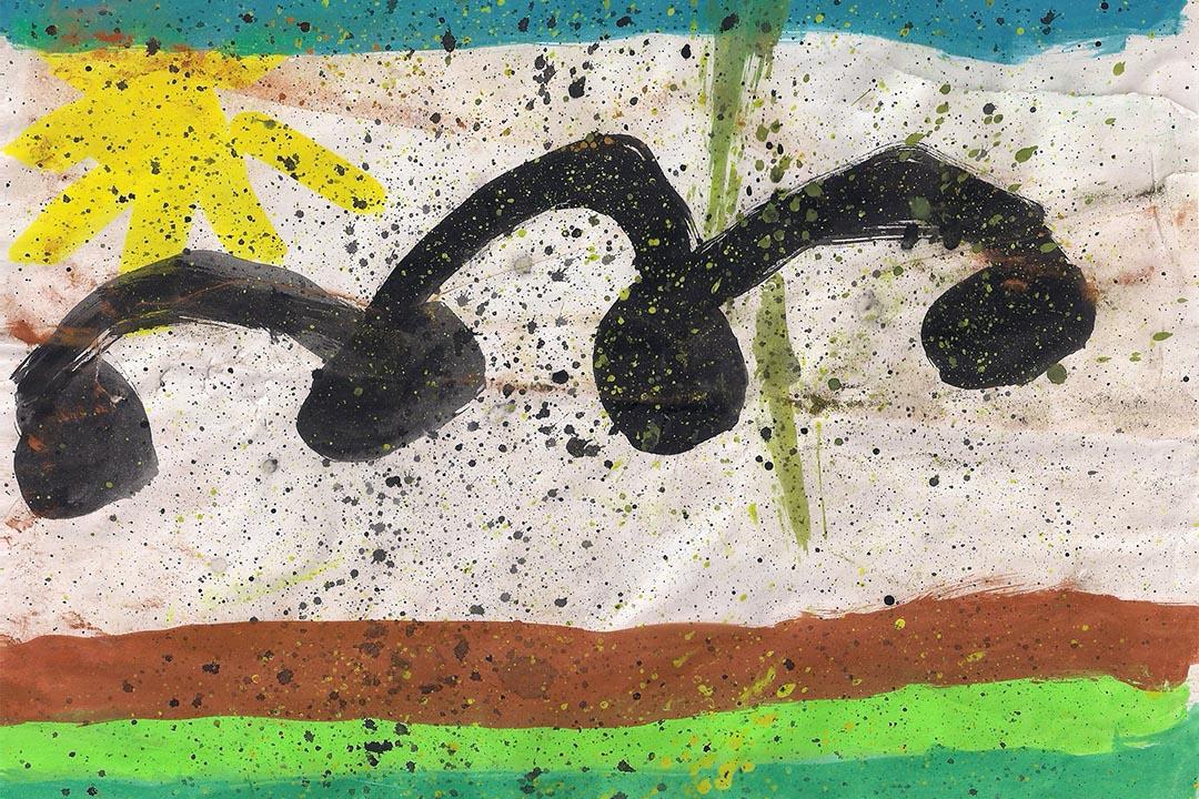 插畫:《一塊會跳的石頭》,作者 Ka  (卡乎的女兒)