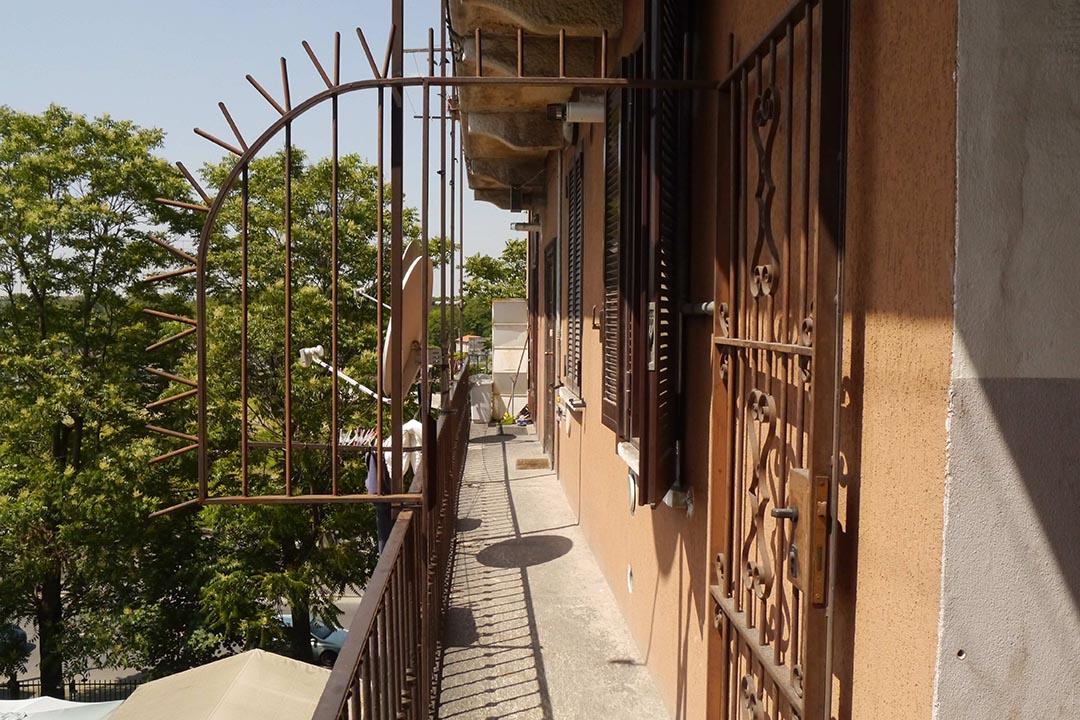 位於米蘭世博會附近舊區的民宿。照片由鄒崇銘提供