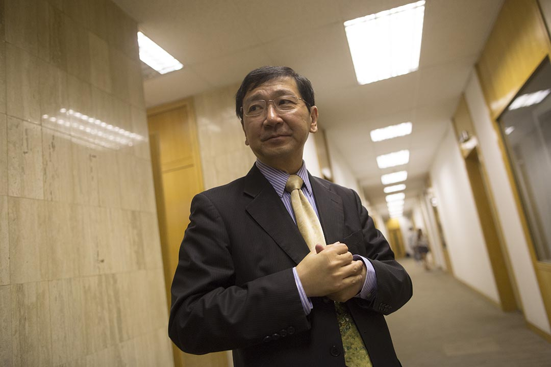 港大法律學院前院長陳文敏。攝:羅國輝/端傳媒