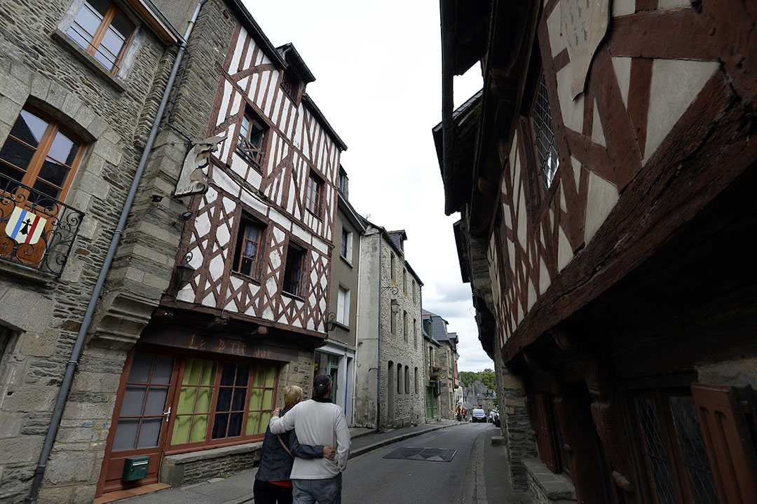 法國城市Brittany。攝:MIGUEL MEDINA/AFP