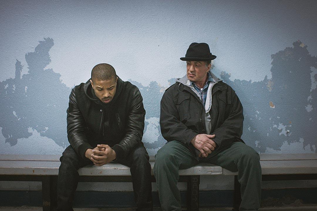 電影《Creed》(《洛奇外傳 王者之後》)導演與男主角都是非裔影人,並有份提名最佳男配角,不過入圍者係鼎鼎大名的史泰龍(右)