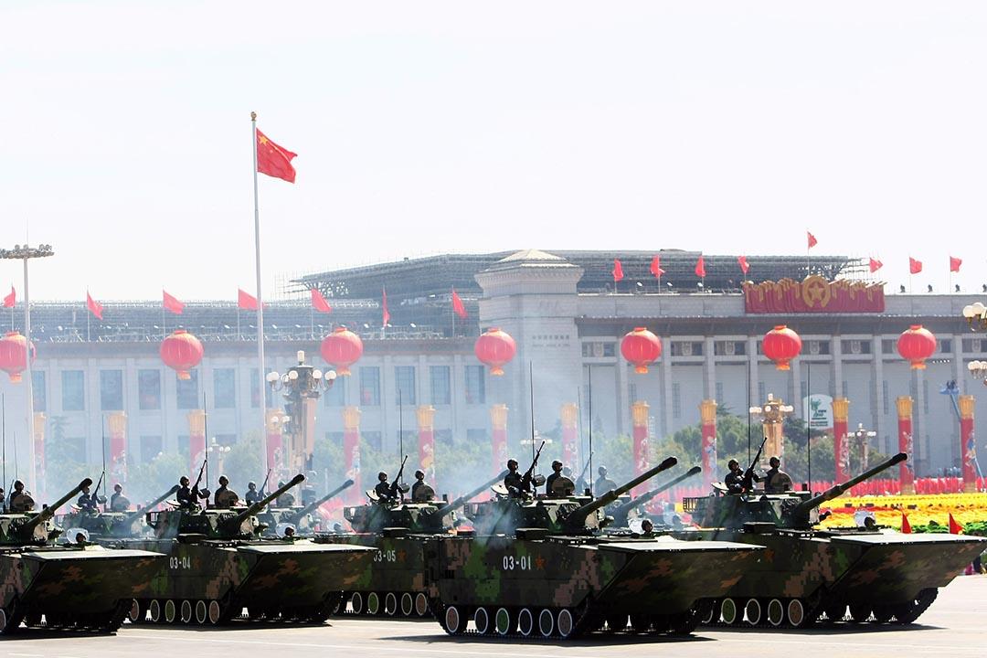 中華人民共和國國慶60週年閱兵儀式。攝:Feng Li/Getty Images