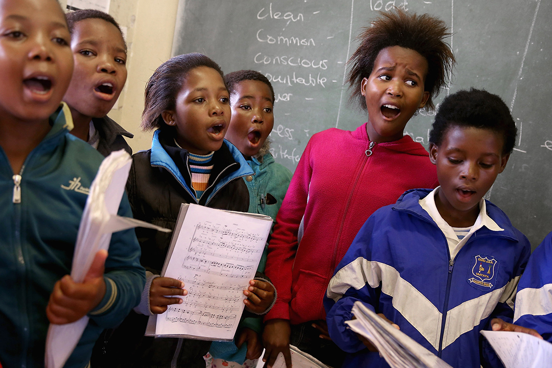 南非將在公立學校基礎教育課程推行漢語選修課。攝:Chip Somodevilla/Getty