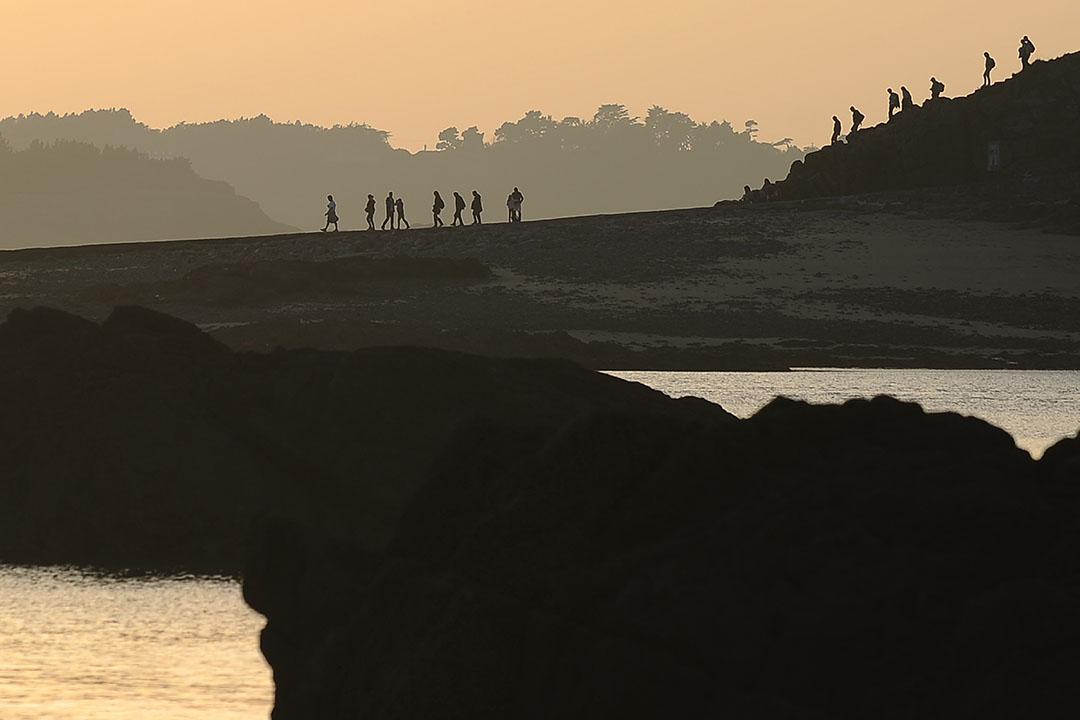 法國城市Brittany。攝:JEAN-SEBASTIEN EVRARD/AFP