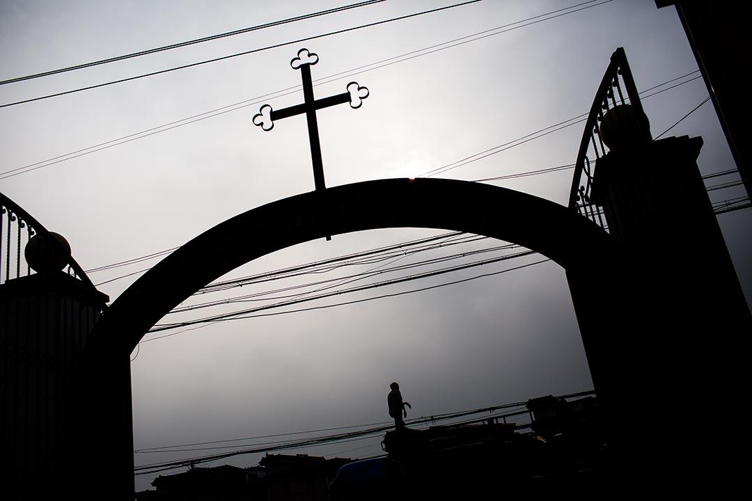 杭州蕭山天主堂。攝:Billy H.C. Kwok/端傳媒