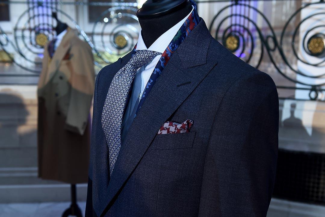 馮應謙:穿西裝是潮流、傳統,也是一種專業精神,值得敬佩。攝:Ian Gavan/Getty
