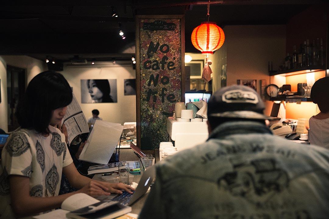 台北咖啡館 homey's。攝:Billy H.C. Kwok/端傳媒