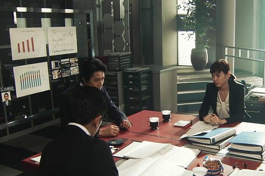 第八集:危機對策室正在為調查旗下TOUSEN公司的假賬事件爭分奪秒。
