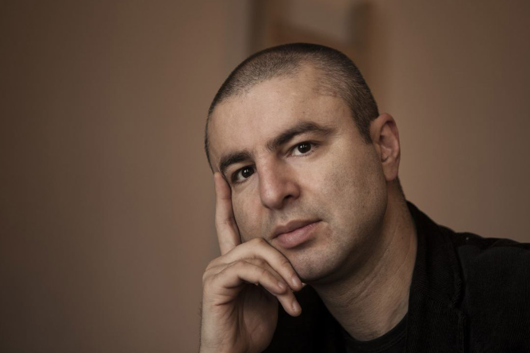馬其頓詩人尼古拉‧馬茲洛夫(Nikola Madzirov)。圖片由作者提供