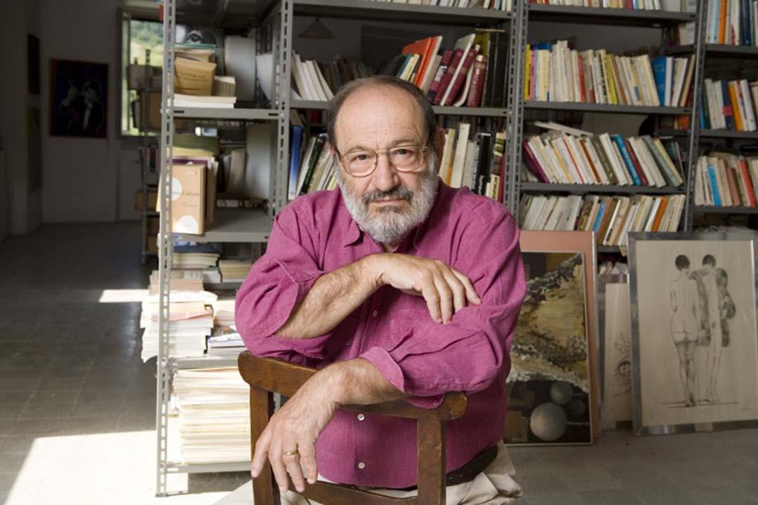 艾可(Umberto Eco)。攝:LEEMAGE/AFP