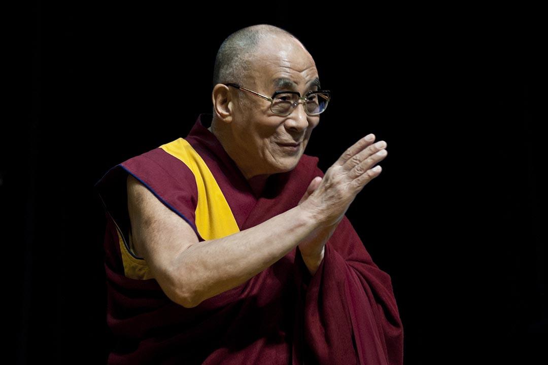 十四世達賴喇嘛丹增嘉措。攝:Keith Tsuji/Getty