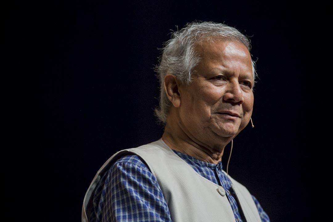 穆罕默德.尤努斯(Muhammad Yunus)。攝:羅國輝/端傳媒