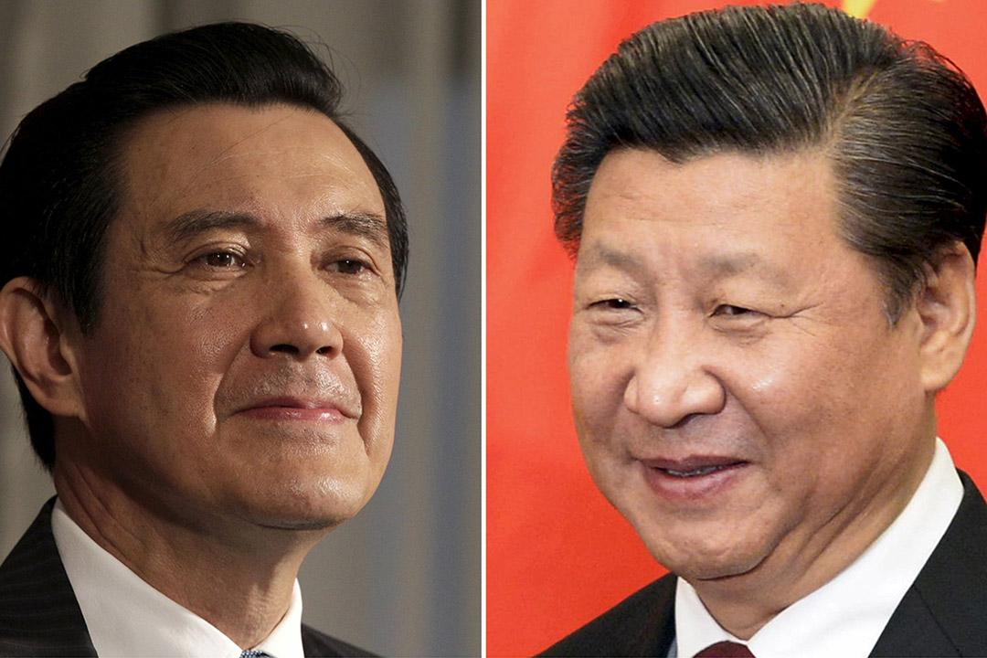 台灣總統馬英九(左)與中國主席習近平(右)將於本周六在新加坡會面。攝:Pichi Chuang,Muneyoshi Someya/REUTERS