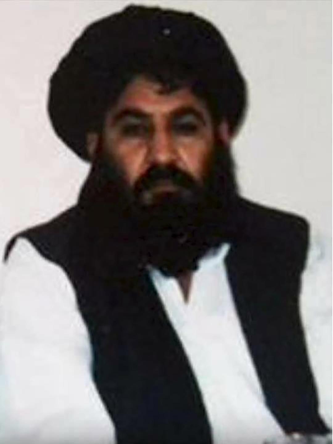 阿富汗塔利班新領袖曼蘇爾。攝 : Handout/REUTERS