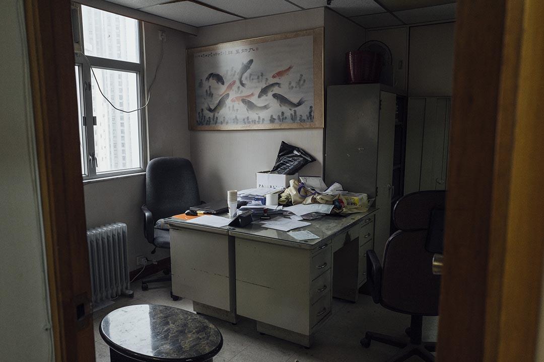 巨流傳媒位於柴灣的一個辦公室。 攝 : Anthony Kwan/端傳媒