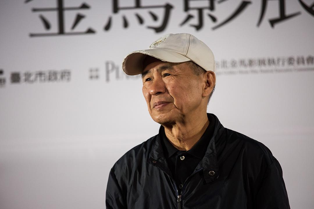 2015年11月17日,台北,候孝賢導演出席金馬獎宣傳活動。攝: Billy H.C. Kwok/端傳媒