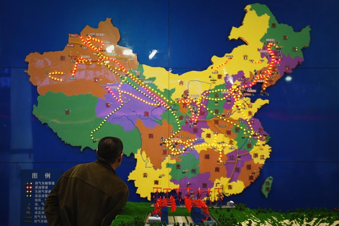 中國在「現代國際秩序」跟「天下帝國」兩種想像間的搖擺,是當前許多問題根源。攝: Feng Li/Getty