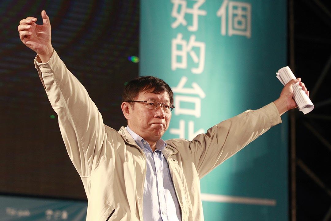 柯文哲。攝 : Pichi Chuang/REUTERS