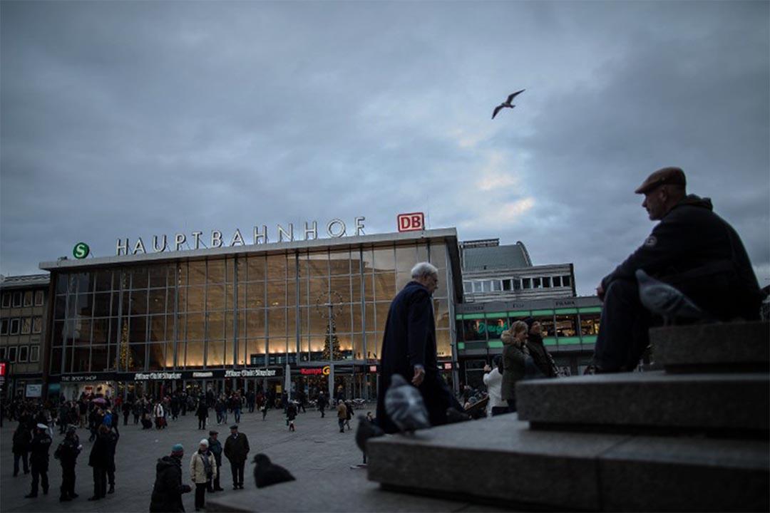 2015年12月31日晚,科隆火車站和大教堂附近發生大規模性侵及搶劫案件,圖為科隆火車站。攝:MAJA HITIJ/ DPA/ AFP