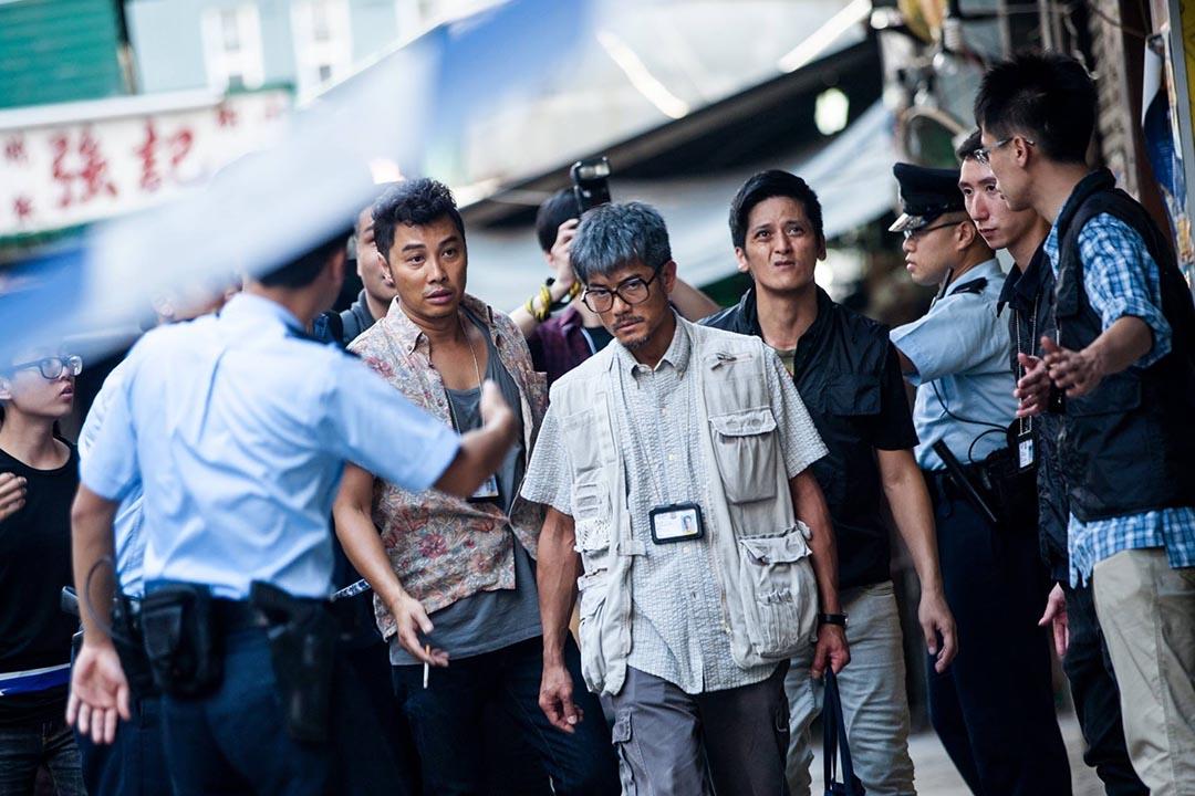 郭富城飾演的臧sir,除了追查凶案真相,更探尋殺人者的動機,企圖理解他人的孤獨。圖片為《踏血尋梅》劇照,由作者提供