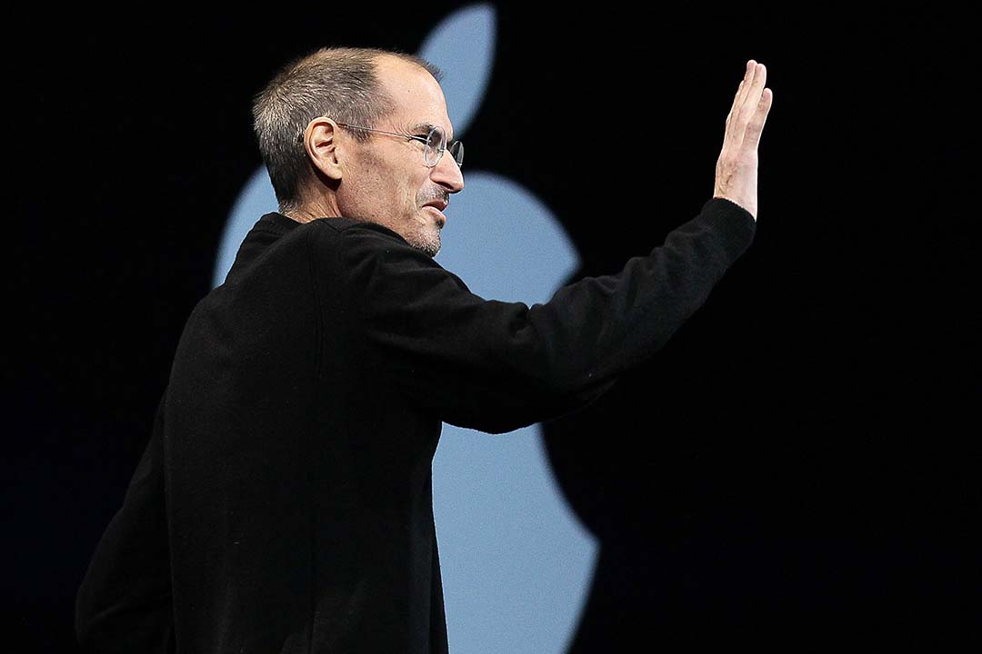 Steve Jobs。攝:Justin Sullivan/Getty
