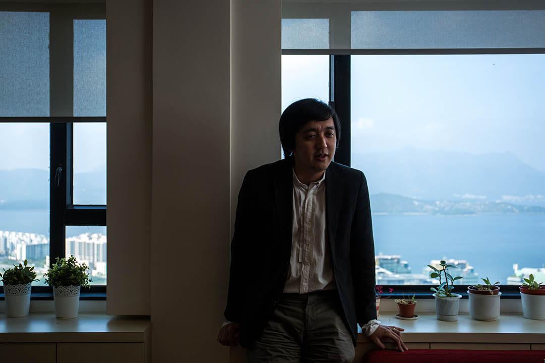 香港中文大學新聞與傳播學院教授李立峯。攝:盧翊銘/端傳媒