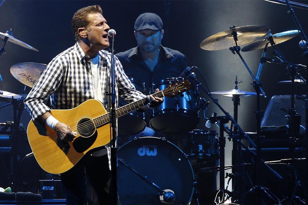2011年6月30日,格林·佛萊(Glenn Frey)在摩納哥演出。攝:Benoit Tessier/Reuters