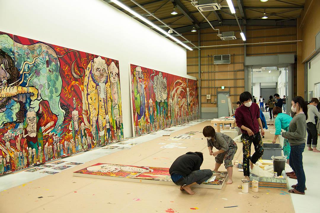Production view, The 500 Arhats  Photo: Aminaka Kenta