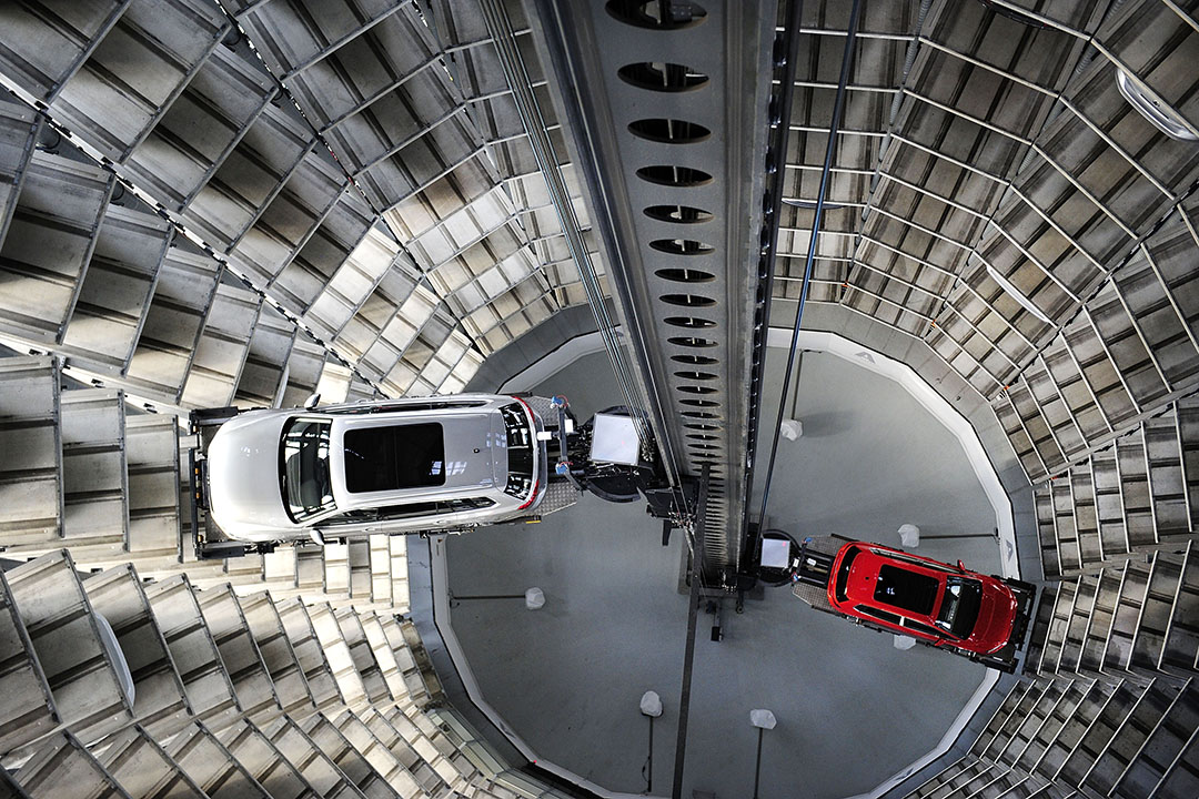 大眾汽車德國車廠。攝:Alexander Koerner/GETTY