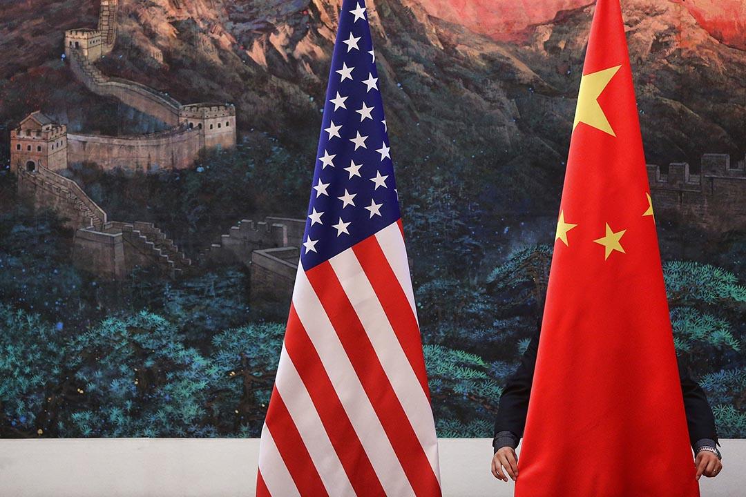 中國「特工」赴美秘密追捕貪官遭到美方抗議,引發兩國爭論。攝: Feng Li/Getty Images
