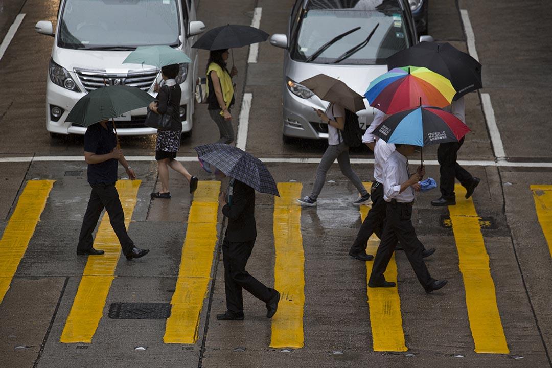 關焯照:當香港經濟表現較美國差的時候,美國聯儲局卻開始加息,這可以為香港經濟添煩添亂。攝:羅國輝/端傳媒