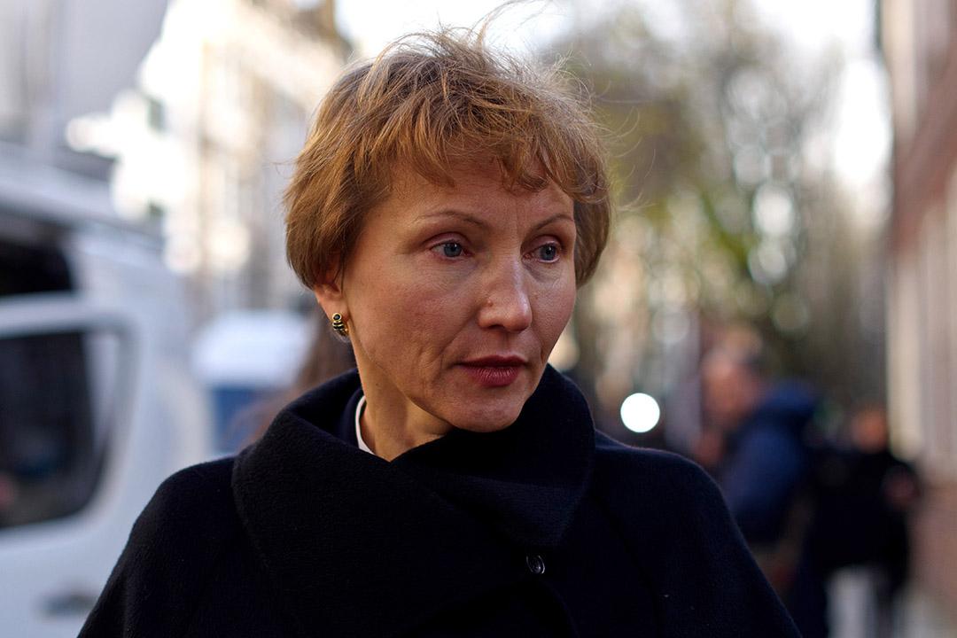 利特維年科遺孀瑪麗娜(Marina Litvinenko)。攝:Ben Pruchnie/Getty