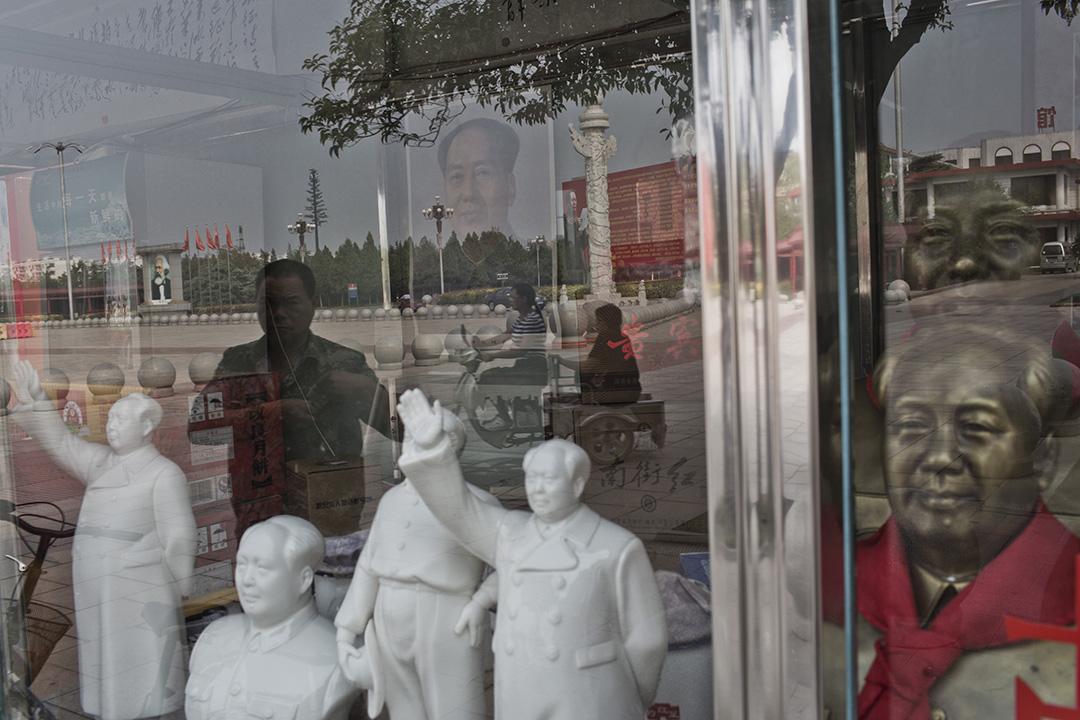 河南南街村的「毛澤東村」。攝:林亦非/端傳媒