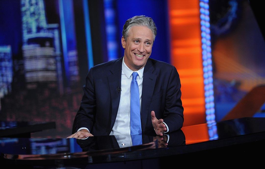 美國電視主持人占士·史超活(Jon Stewart)。攝 : Brad Barket/Getty Images for Comedy Central