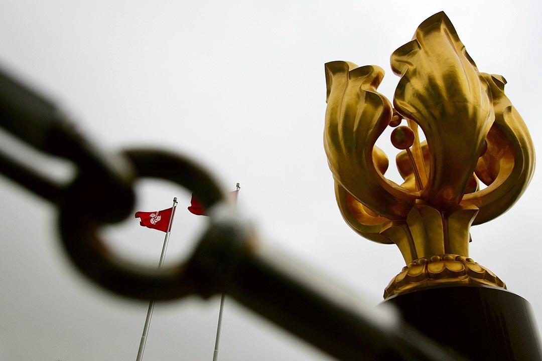 香港近年來施政不暢順,以及「行政主導」未能有效落實,完全歸咎於香港政治鬥爭的特殊性方面,特區政府便不能與時並進。攝:Guang Niu/Getty