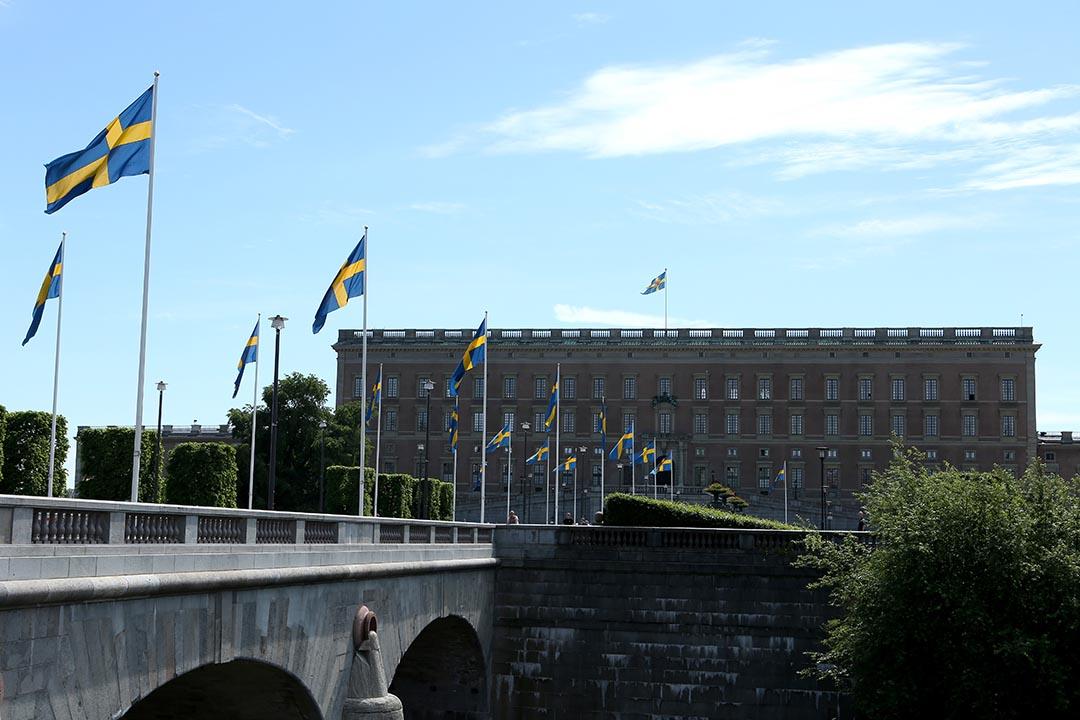 研究表明,現金交易在瑞典正在快速消失。圖為瑞典皇家宮殿。攝 : Ragnar Singsaas/GETTY