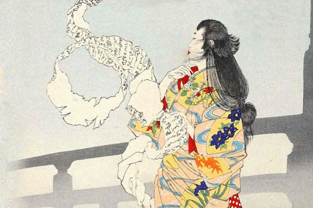浮世繪師月岡芳年作品,連環畫作「月百姿」