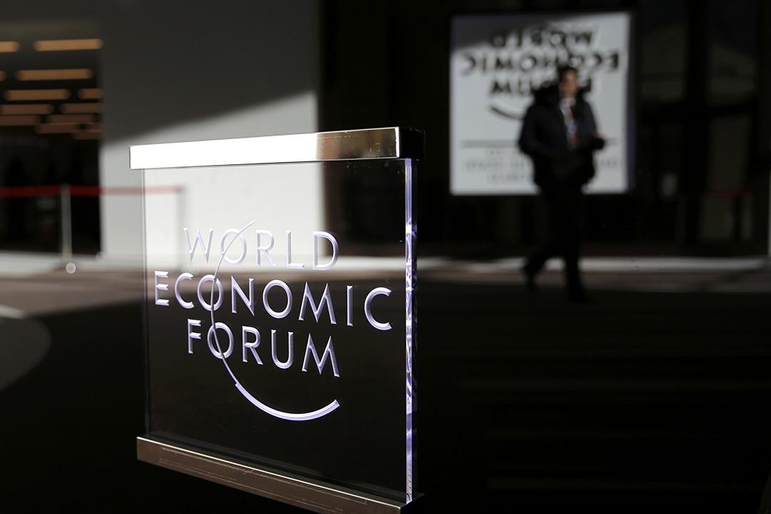1月23日,在瑞士達沃斯舉行的世界經濟論壇(World Economic Forum)閉幕。攝:Ruben Sprich/REUTERS