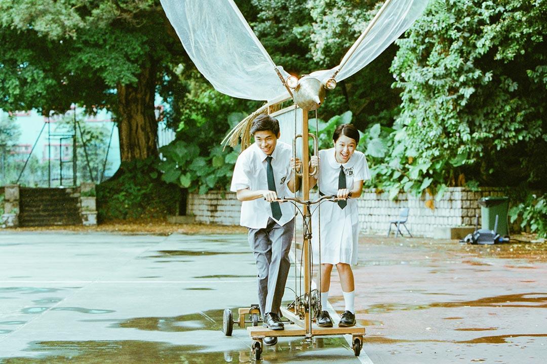 電影《哪一天我們會飛》劇照。